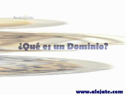 Tutorial: ¿Qué es un Dominio?