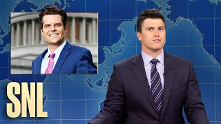 Weekend Update: Matt Gaetz Under Investigation - SNL