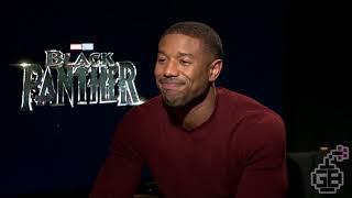 Flirting with Michael B. Jordan!