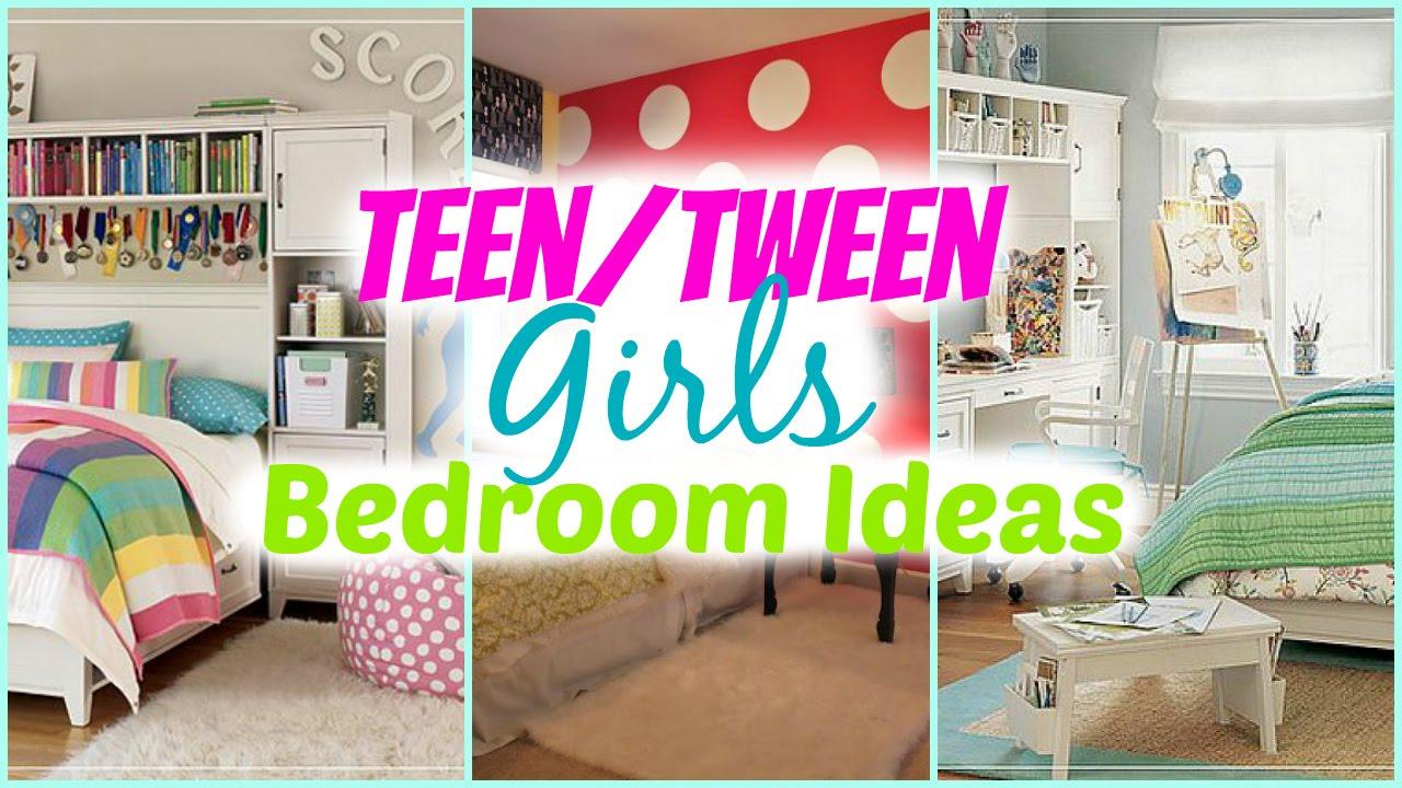 Teenage Girl Bedroom Ideas + Decorating Tips - YouTube on Tween Room Ideas Girl  id=23739