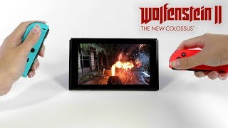 Wolfenstein II – Trailer di pubblicazione per Nintendo Switch