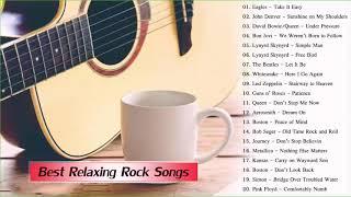 Relaxing Acoustic Rock  ||  Best Relaxing Rock Music Playlist