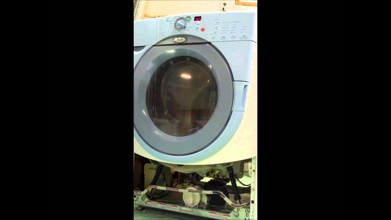 Whirlpool Duet Spin Cycle Clunking Sound Youtube