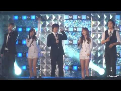 SNSD And SUJU Seoul Song LIVE