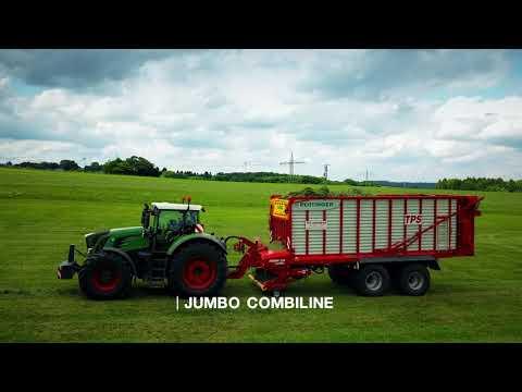 Nowe video: przyczepy JUMBO, JUMBO COMBILINE