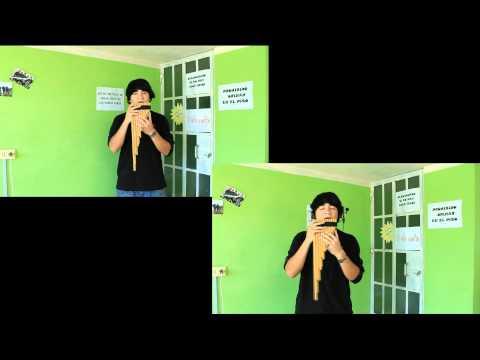 (81) Sin ella - KJARKAS (cover explicado) Zampoña