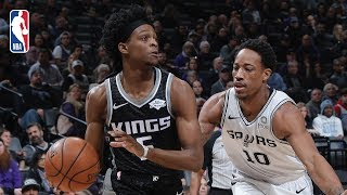 Full Game Recap: Spurs vs Kings | Bagley Records Career-High