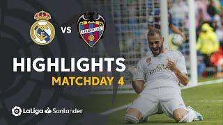 Highlights Real Madrid vs Levante UD (3-2)