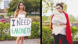 Rich Girl vs Poor Mom (Social Experiment)