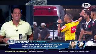 DIRETOR DE FUTEBOL DO VASCO, ALEXANDRE FARIA, CONCEDE ENTREVISTA EXCLUSIVA NO FOX SPORTS RÁDIO; VEJA