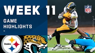 Steelers vs. Jaguars Week 11 Highlights   NFL 2020