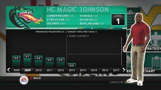COACH MAGIC TAKING OVER!! NCAA 14 DYNASTY EP. 1