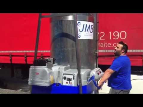 Monocepillo diesel - Lavado de camiones - Limpieza en San Adrian