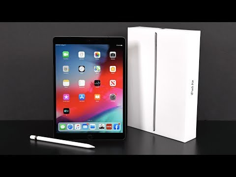 video Apple iPad Air 10.5 inch 256G Tablet Support Apple Pencil
