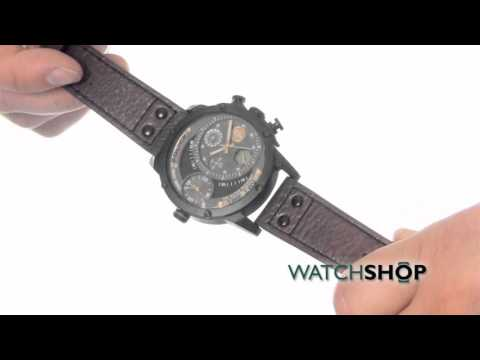 video Police Adder Mens Watch – P14536JSU-04P (Blue/Black)