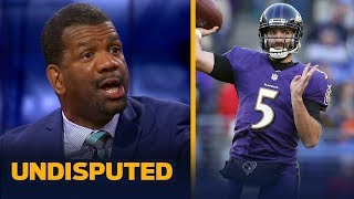 Rob Parker believes Joe Flacco is a 'downgrade' for the Denver Broncos | NFL | UNDISPUTED