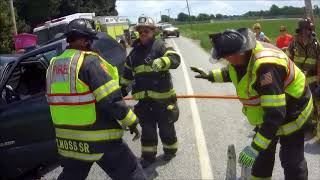 Company 50 Takes in Back-to-Back Entrapments *Helmet Cam*