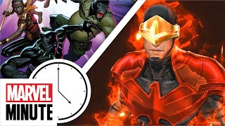 BLACK PANTHER AND THE AGENTS OF WAKANDA and More!   Marvel Minute