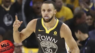 Golden State Warriors vs Houston Rockets Full Game Highlights / Game 4 / 2018 NBA Playoffs