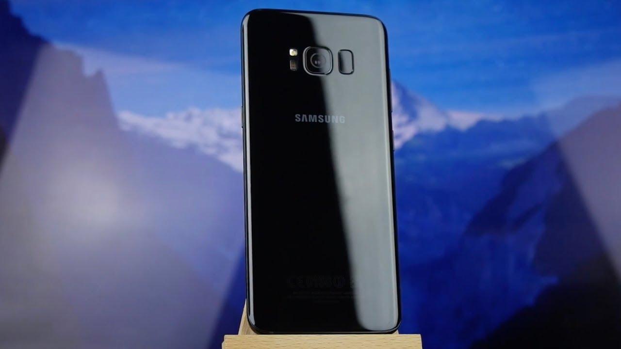 3efe881f10356 Видеообзор Samsung Galaxy S8 2017 G950F 4/64Gb Maple Gold (SM-G950FZDDSEK)
