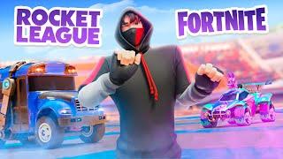 Rocket League in FORTNITE! (Very Epic)