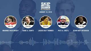 UNDISPUTED Audio Podcast (01.18.19) with Skip Bayless, Shannon Sharpe & Jenny Taft | UNDISPUTED
