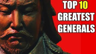 TOP 10 GREATEST GENERALS IN HISTORY - Ancient to Pre-Modern