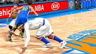 OMG CURRY BROKE MY ANKLES! NBA 2k16 My Career Gameplay Ep. 51