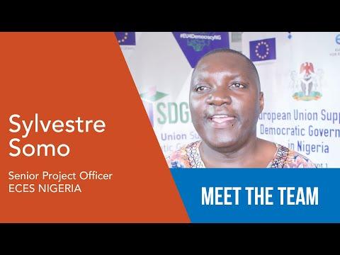 Sylvestre Somo - Senior Project Officer - ECES Nigeria