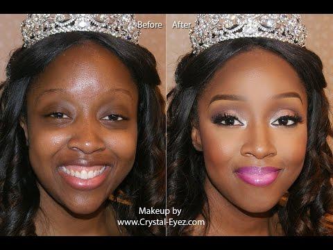 Crystal-Eyez Wedding Makeup