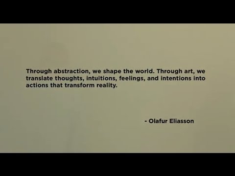 Olafur Eliasson, 2014 McDermott Award Recipient - YouTube