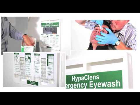 HypaClean 20ml Eyewash Dispenser including 25 Pods