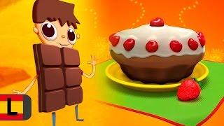 Recetas con chocolate, cocinar con niños. Telmo Tula serie animada