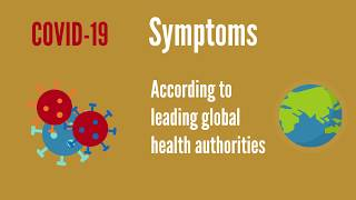Coronavirus (COVID-19) Symptoms - China, USA, UK, Australia guidelines (Global Edition)
