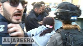 Dozens injured as protests continue into fourth day across Jerusalem
