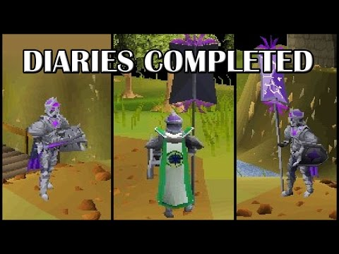 Showcasing All (notable) Achievement Diary Rewards & Perks | Oldschool Runescape