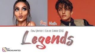 "Now United - ""Legends"" | Color Coded Lyrics"