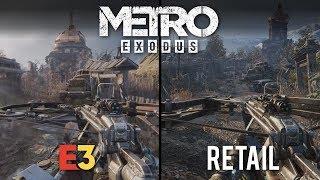 Metro Exodus E3 vs Retail | Direct Comparison