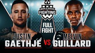 Full Fight | Justin Gaethje vs Melvin Guillard | WSOF 15, 2014