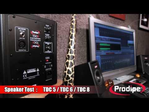 Speaker Test : TDC5/ TDC6 / TDC8