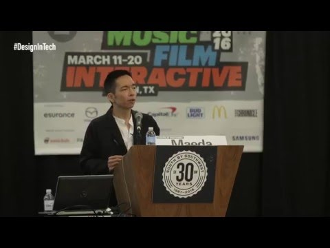 Design in Tech Report 2016: John Maeda at SXSW