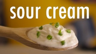 Receita: como fazer Sour Cream – ou Creme Azedo