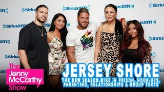 """Cast of """"Jersey Shore: Family Vacation"""" on the New Season, Mike """"The Situation"""" & Group Texts"""