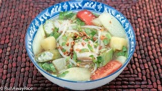 Sour Soup with Fish (Canh Chua Ca)