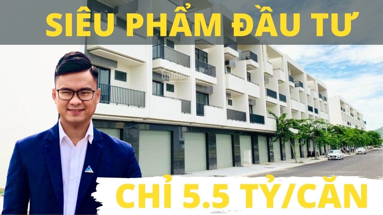 Nhà phố Nha Trang - Shophouse VCN Phước Long 2 giá cực sốc chỉ từ 5,5 tỷ/căn. LH: 0901100248 video