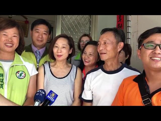 影/魏明谷前往蔡家點紅榜嘉許 分享奪牌榮耀