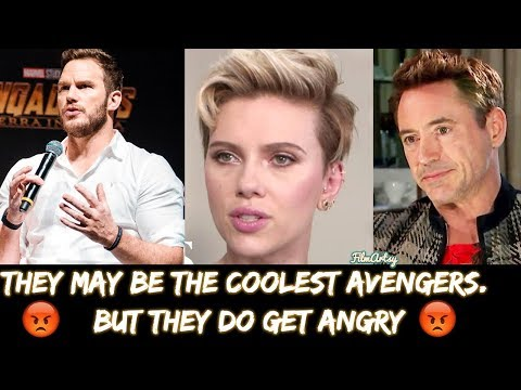 Avengers: Infinity War Cast Getting Angry At Interviews - Cringiest Moments