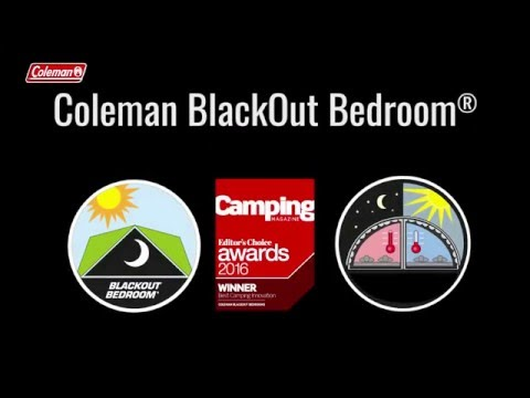 video Coleman MacKenzie 6 Family 'BlackOut' Tent