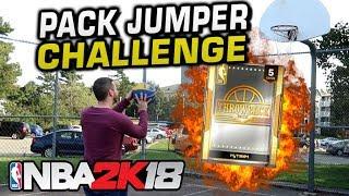 Troydan's Jumpshot Challenge! NEW THROWBACK PACKS! NBA 2K18