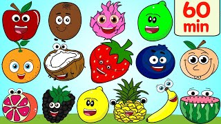 Fruits, Colors, & More Kids Songs! | +60 Min Collection
